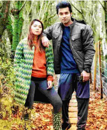 Santosh Juvekar with wife