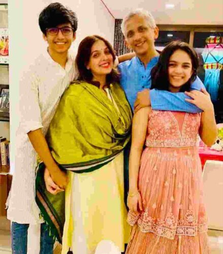 Shilpa Tulaskar family